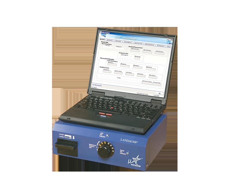 Radiation Dosimeter MicroSTAR® - Landauer