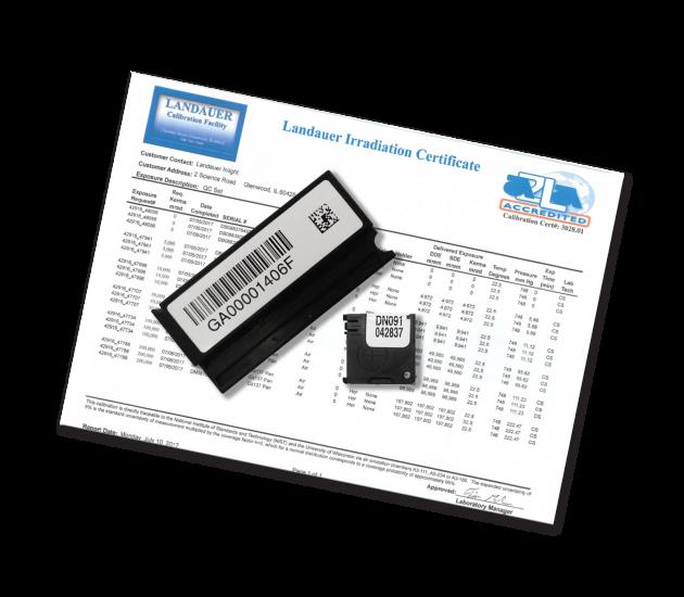 Kit de calibration dosimètres